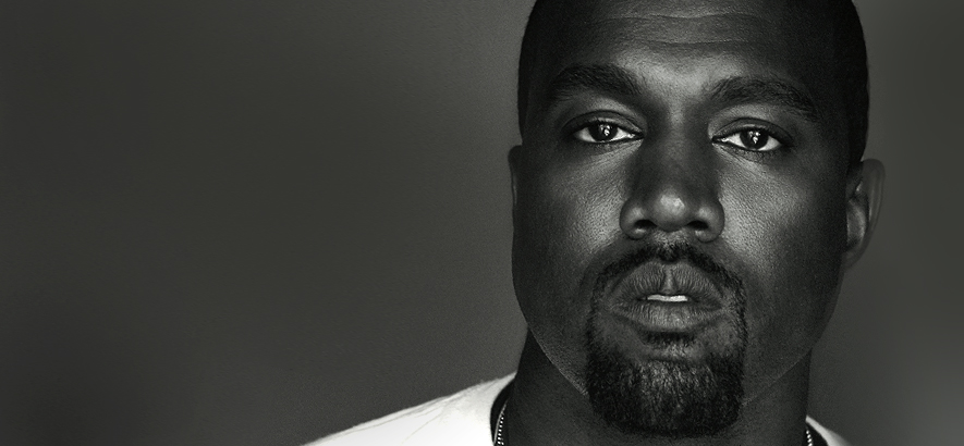 "US-Rapper Kanye West, der ein neues Musikvideo mit dem zur Single ""Wash Us In The Blood"" veröffentlicht."