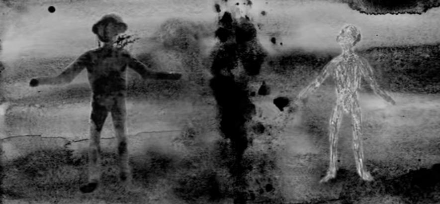 """Film-Still aus dem Musikvideo zu """"I Have A Radio"""" von David Lynch"""