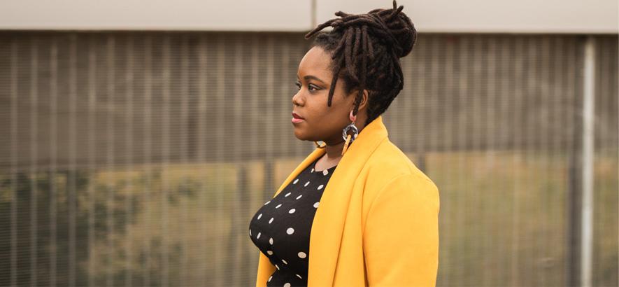 Foto der britisch-jamaikanischen Sängerin Zara McFarlane, für deren Biografie die UK-Jamaika-Connection eine wichtige Rolle spielt.