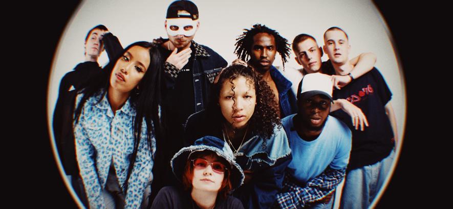 """Die Londoner Musik- und Fashion-Crew Nine8, in deren Single """"079Eight"""" Telefon-Beziehungen eine zentrale Rolle spielen."""