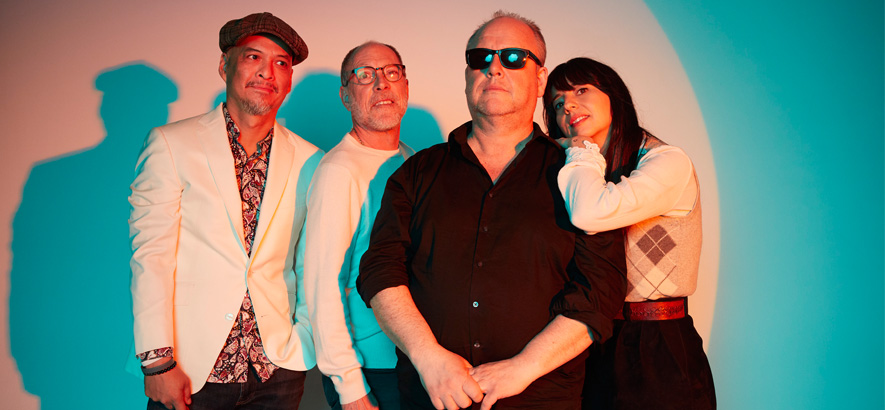 Pressebild der Proto-Grunge-Band Pixies.