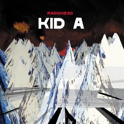 """Bild des Albumcovers von Radioheads """"Kid A"""", das am 2. Oktober 2020 20 Jahre alt wird."""