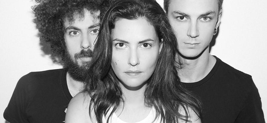 """Die Band Tamar Aphek aus Tel Aviv, deren Song """"Show Me Your Pretty Side"""" lauernde Widersprüche behandelt."""