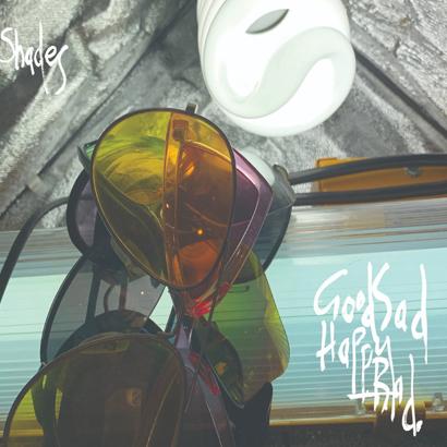 """Bild des Albumcovers von """"Shades"""" von Good Sad Happy Bad, das unser ByteFM Album der Woche ist."""