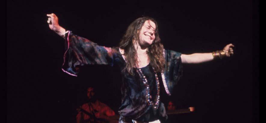 """Foto der Sängerin Janis Joplin. Ihr Soul-Song """"As Good As You"""
