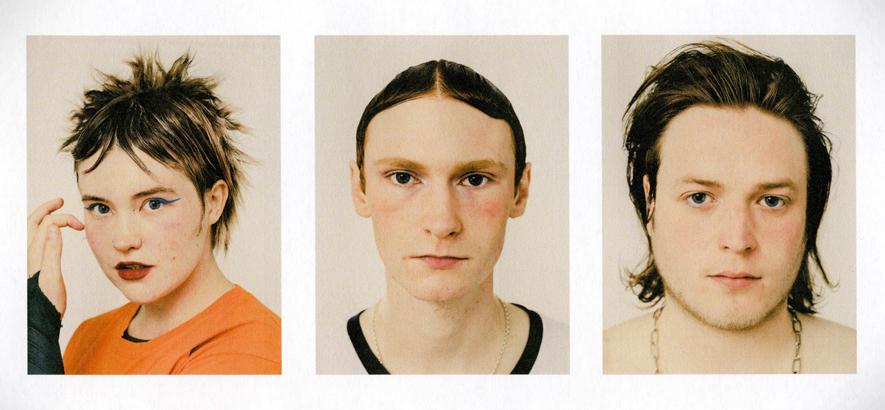 """Das britische Dance-Punk-Trio PVA, dessen Single """"Talks"""" heute unser Track des Tages ist."""