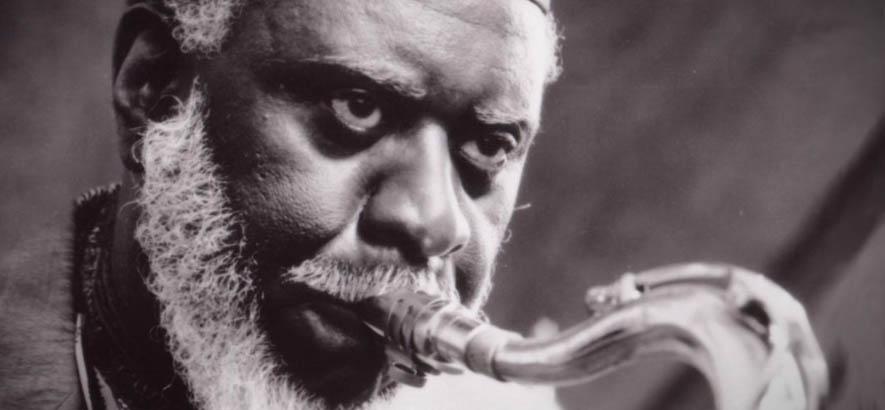 """Der Jazz Saxofonist Pharoah Sanders, dessen Stück """"You"""