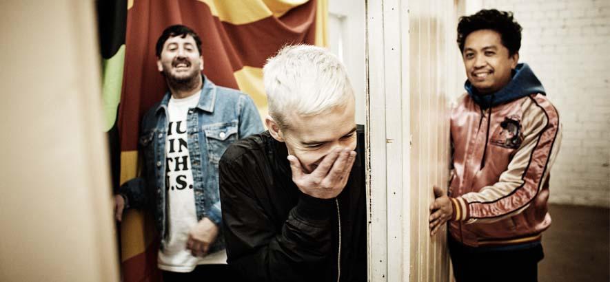 "Foto der Band The Avalanches, deren Song ""Since I Left You"" heute unser Track des Tages ist."