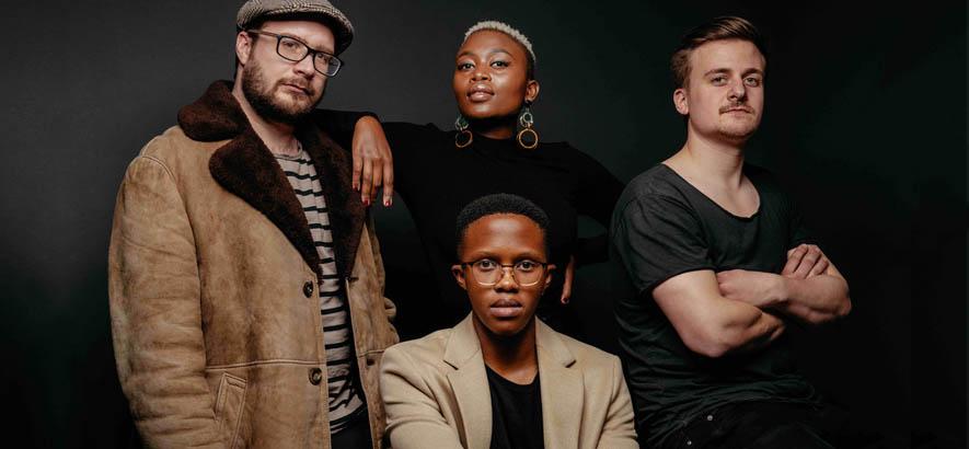 """Pressebild der südafrikanischen Band Seba Kaapstad, deren Stück """"Konke"""" heute unser Track des Tages ist."""