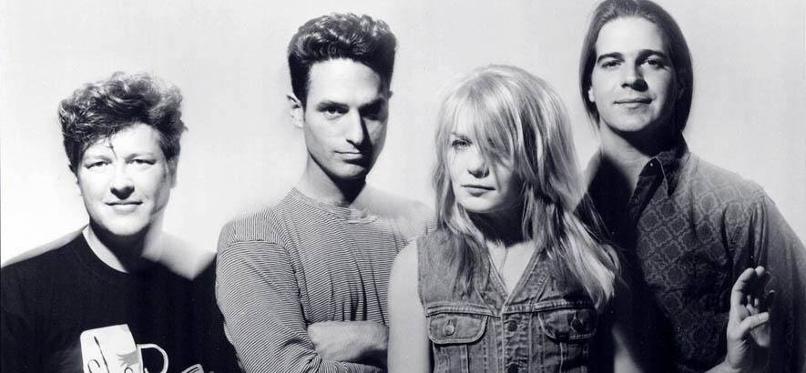 """Pressebild der Band Tom Tom Club, deren Song """"On, On, On, On ..."""" heute an Tina Weymouths 70. Geburtstag unser Track des Tages ist."""