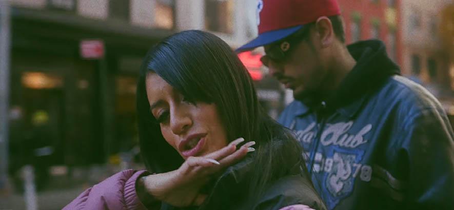 """Screenshot aus dem Videoclip zu unserem heutigen Track des Tages """"Idols"""" (feat. YL) von der US-Rapperin Vel The Wonder."""