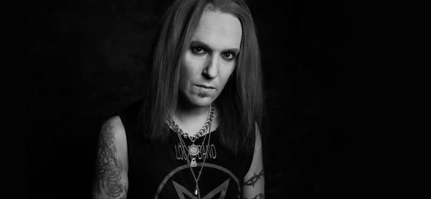 Pressebild von Alexi Laiho, Sänger und Gitarrist der Band Children Of Bodom, der im Alter von 41 Jahren gestorben ist.