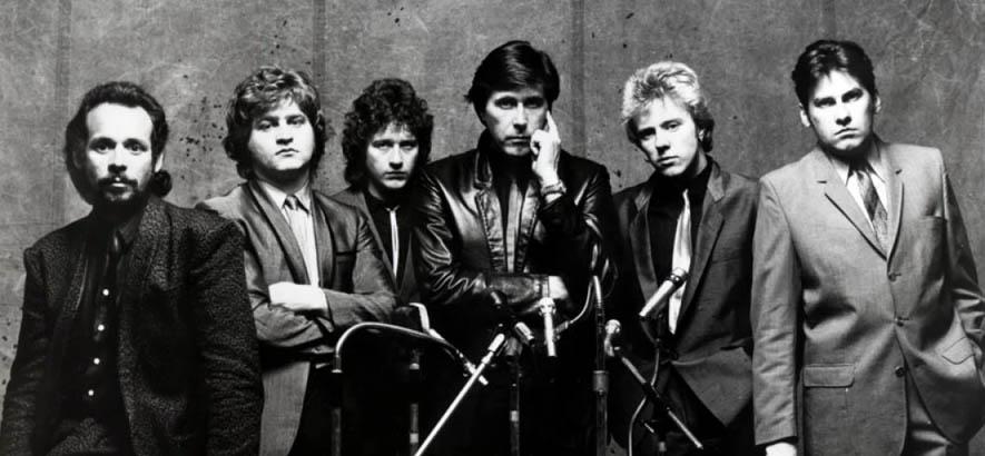 """Roxy Music, deren Gitarrist Phil Manzanera heute 70 Jahre alt wird und deren Song """"Amazona"""" heute unser Track des Tages ist."""