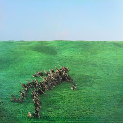 """Albumcover von Squid - """"Bright Green Field"""""""