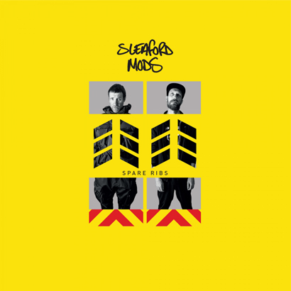 """Bild des Albumcovers von """"Spare Ribs"""" von Sleaford Mods, das unser ByteFM Album der Woche ist."""