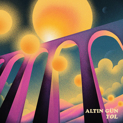 """Bild des Albumcovers von """"Yol"""" von Altın Gün, das unser ByteFM Album der Woche ist."""