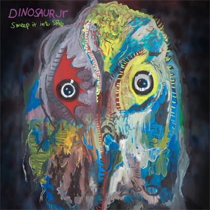 "Artwork des Albums ""Sweep It Into Space"" von Dinosaur Jr."