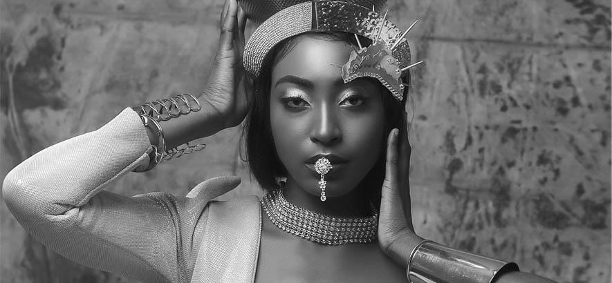 """Die namibische Rapperin Lioness, deren Song """"Superstar"""" heute unser Track des Tages ist."""