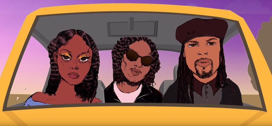 "Screenshot aus dem Video zu unserem heutigen Track des Tages, ""Anybody"" von Louis King, Fana Hues & Ab-Soul."