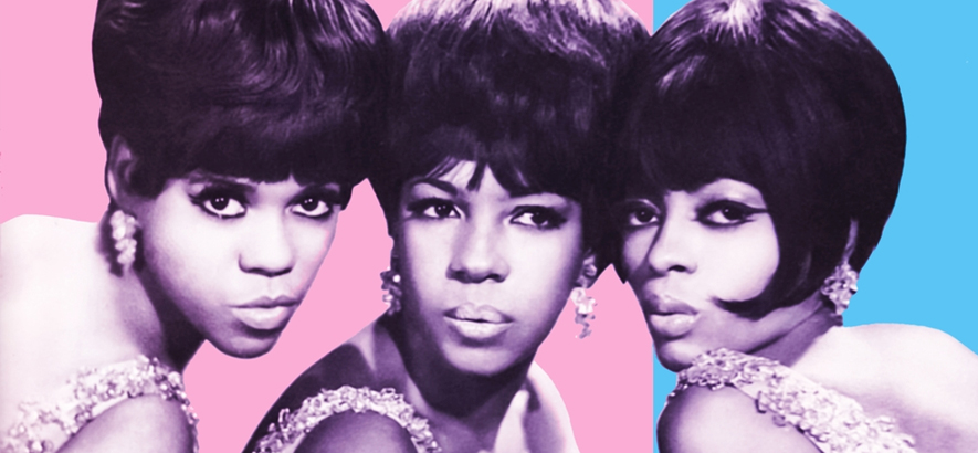 "Artwork der Single The Supremes – ""Reflections"" aus dem Jahr 1967 (Motown Records), mit Mary Wilson links im Bild."