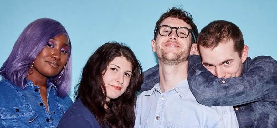 """Pressebild der New Yorker Band Noods. Ihr schrammeliger Indie-Pop-Song """"Donkey Kong"""" ist heute unser Track des Tages."""