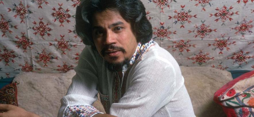 Foto des Musikers Johnny Pacheco, der im Alter von 85 Jahren gestorben ist.