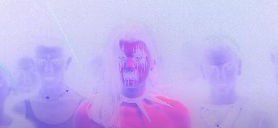 """Ausschnitt aus dem Video """"Rage"""" von Pussy Riot"""