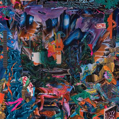 """Album-Cover von Black Midi – """"Cavalcade""""."""