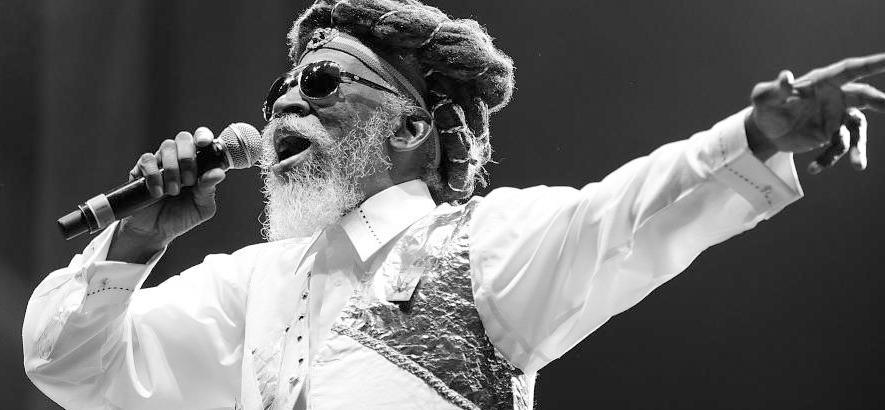 Foto des jamaikanischen Musikers Bunny Wailer, der im Alter von 73 Jahren gestorben ist.