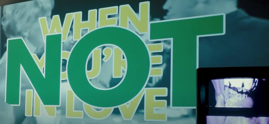 "Filmstill aus dem Musikvideo zu Field Music – ""Not When You're In Love"""