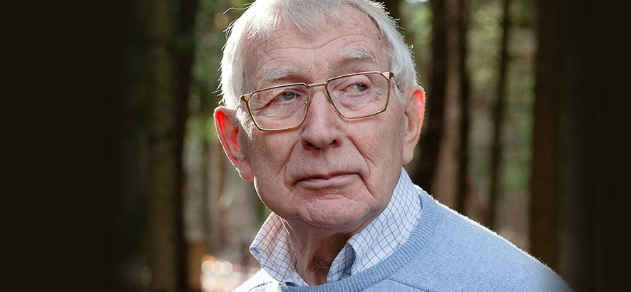 Foto des niederländischen Ingenieurs Lou Ottens, Erfinder der Audiokassette, der im Alter von 94 Jahren gestorben ist.