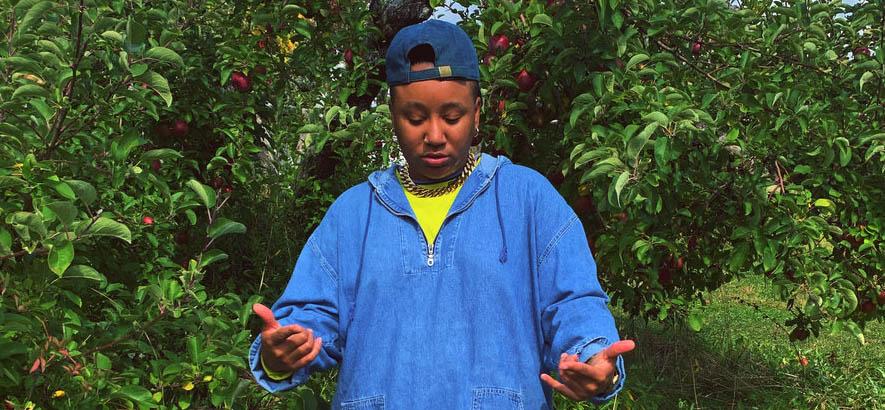 """Die US-amerikanische Rapperin Stas Thee Boss, deren Song """"Penny"""" heute unser Track des Tages ist."""