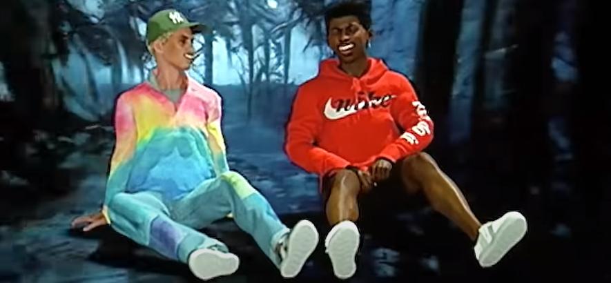"""Filmstill aus dem Musikvideo von Brockhampton – """"Count On Me""""."""