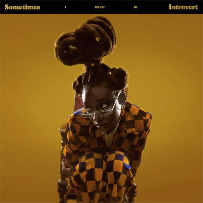 "Album-Cover von Little Simz – ""Sometimes I Might Be Introvert""."
