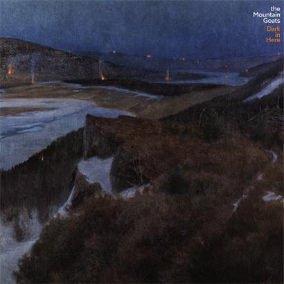 """Album-Cover von The Mountain Goats – """"Dark In Here"""""""