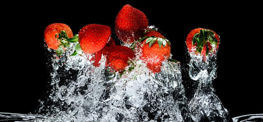 Bild von ein paar Erdbeeren. Symbolfoto für das Nachwuchs-Programm des Berliner Festivals Pop-Kultur.