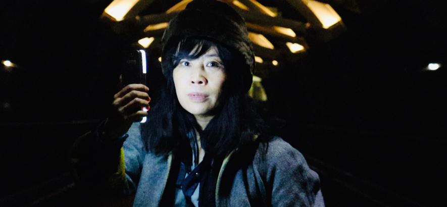 """Bild der Musikerin Sook-Yin Lee, deren Song """"Run Away With Her"""" unser Track des Tages ist."""