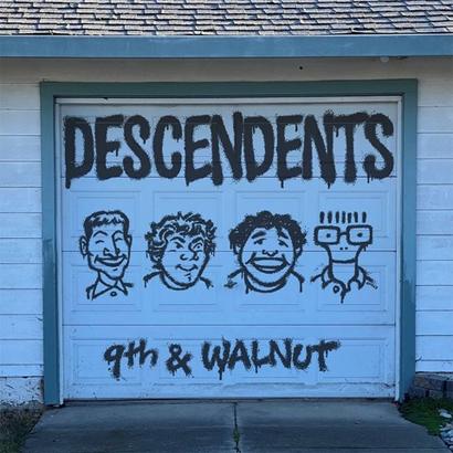 "Album-Cover von Descendents – ""9th & Walnut""."