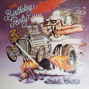 """Albumcover von The Birthday Party – """"Junkyard"""""""