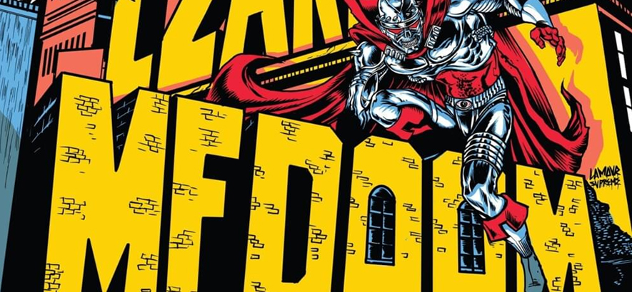 "Artwork von MF DOOM & Czarface – ""Super What?""."
