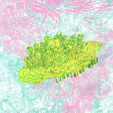 "Albumcover von Lightning Bolt – ""Ride The Skies"""