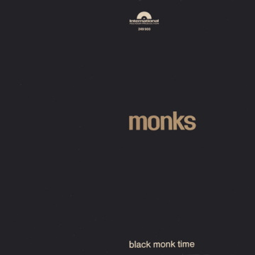 "Albumcover von The Monks – ""Black Monk Time"""