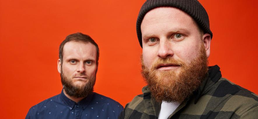 """Foto der Band Zement, die mit """"Goa"""" eine neue Single mit Musikvideo herausgebracht hat."""
