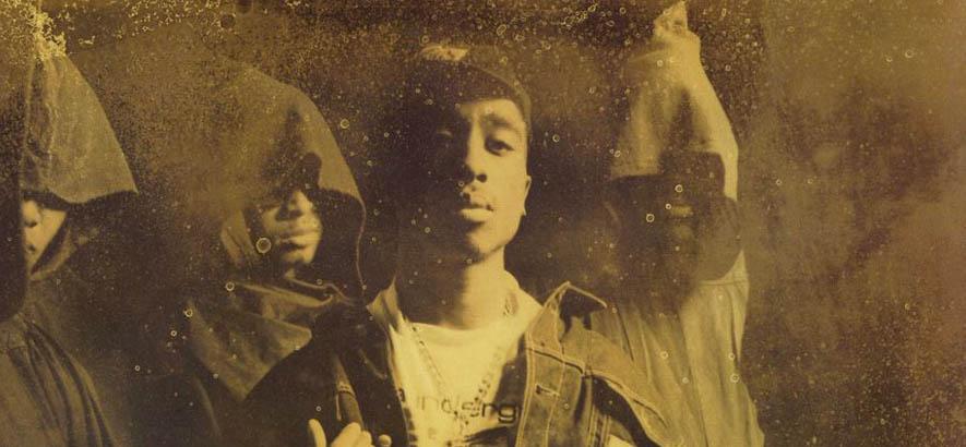 """Cover des Albums """"2Pacalypse Now"""" des US-Rappers 2Pac, dessen erste Single """"Trapped"""" heute unser Track des Tages ist."""