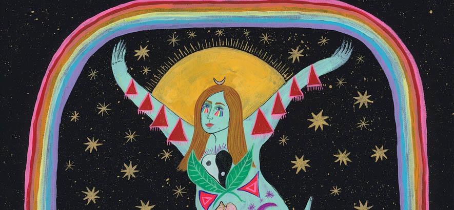 """Cover des Albums """"Yellow"""" von Emma-Jean Thackray, auf dem auch unser Track des Tages """"Our People"""" enthalten ist."""