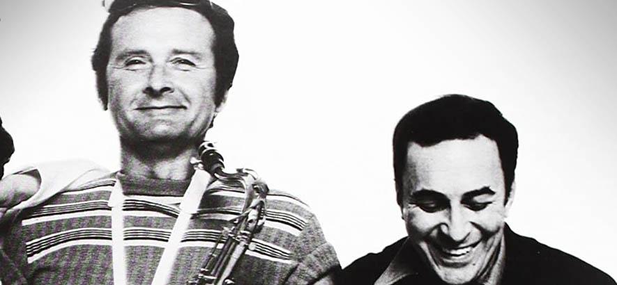 """Stan Getz und João Gilberto auf dem Cover ihres 1976er Albums """"The Best Of Two Worlds"""", auf dem auch unser Track des Tages """"Águas De Março"""" ist."""