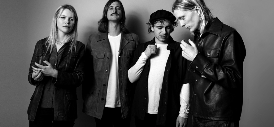"""Foto der schwedischen Band Hater, die mit """"Bad Luck"""" eine neue Single samt Musikvideo veröffentlicht hat."""