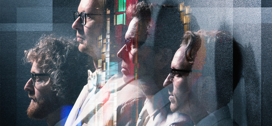 """Bild von Public Service Broadcasting, die mit """"Bright Magic"""" ein neues Album herausbringen werden."""