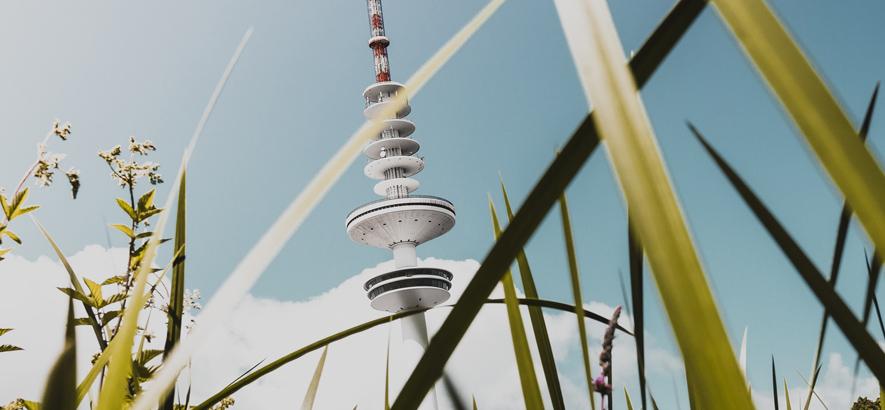 Foto des Heinrich-Hertz-Turms in Hamburg