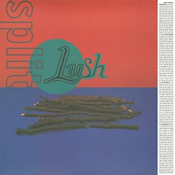 """Albumcover von Lush – """"Split"""" (1994)"""